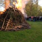 Ein gelungendes Osterfeuer mit vielen netten Leute